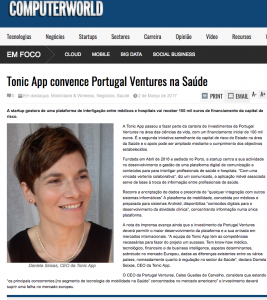 Tonic App on ComputerWorld