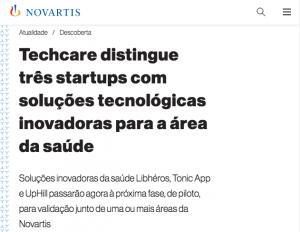 Tonic App on Novartis
