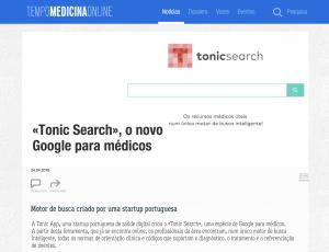 Tonic App on Tempo de Medicina