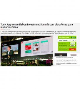 Tonic App at Jornal Económico