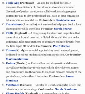 Tonic App at Forbes
