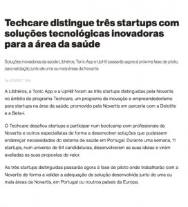 Tonic App at Novartis