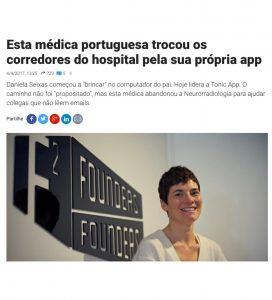 Tonic App at Observador